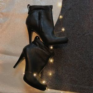Worn Once | Black Nine West Booties | Size 8